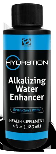 HYDR8TION alkalized water bottle - HYDRA8