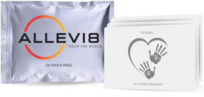 Bepic ALLEVI8 Pads and Pouches pack